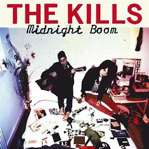 Vinyl - The Kills - Midnight Boom