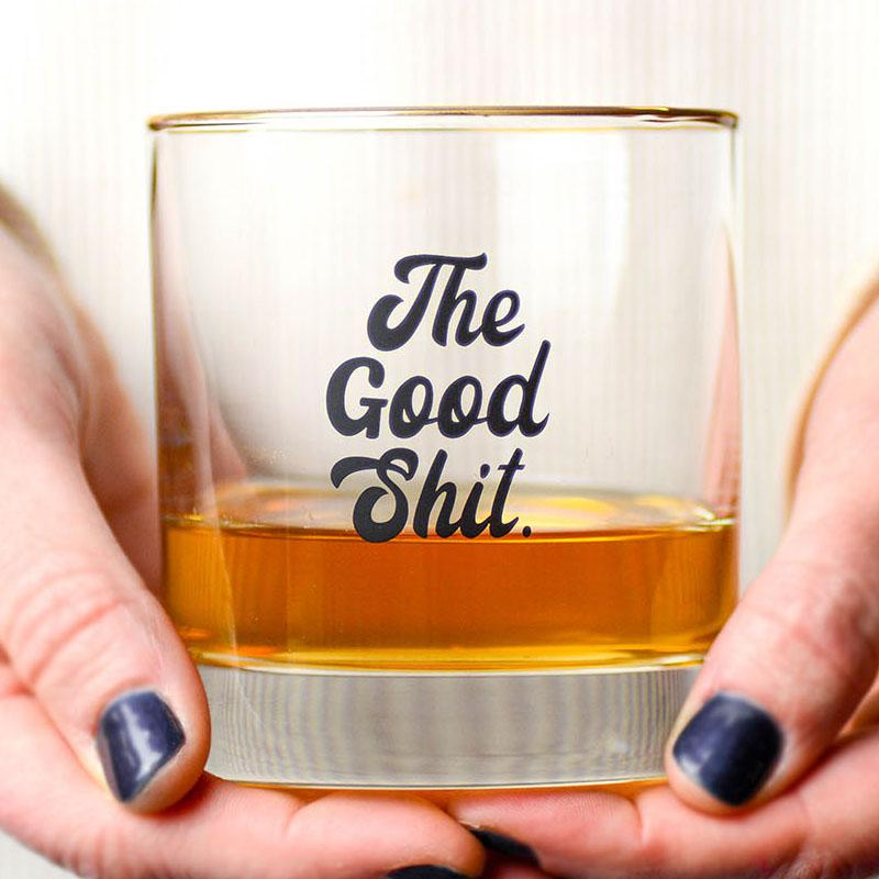 Meriwether The Good Shit Whisky Glass