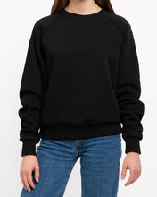 Load image into Gallery viewer, x karla The Raglan Crew Neck in Black
