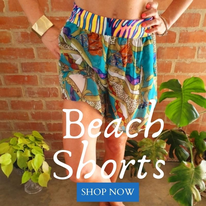 Beautiful, bespoke, authentic Boho shorts & bohemian fashion