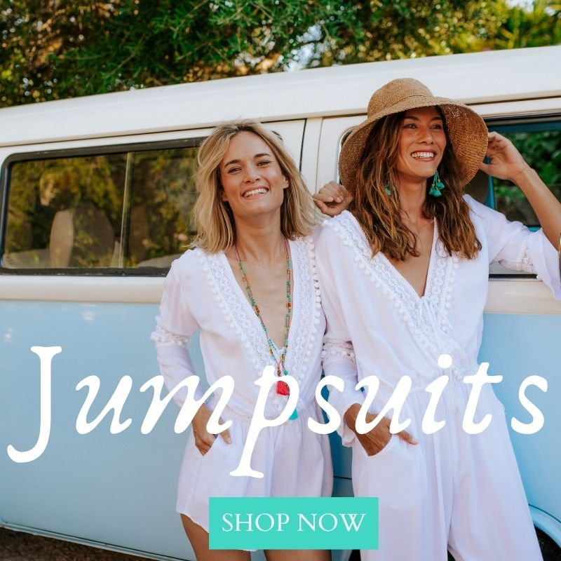 Boho jumpuits,conscious fashion, sustainable fashion, using the most natural materials, creating a unique bohemian high quality range