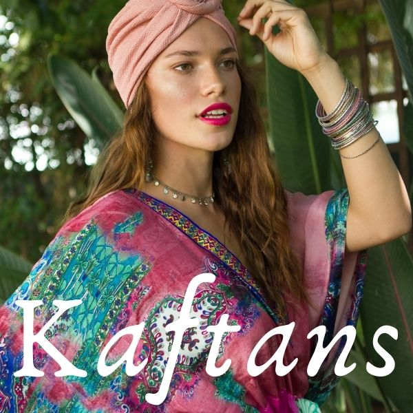 Beautiful, bespoke, authentic Kaftans & bohemian fashion