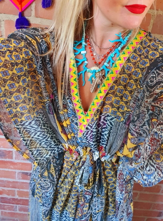 The Namaste Short Kaftan