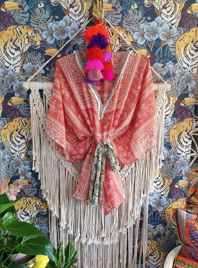 The Garden Party Kaftan Top