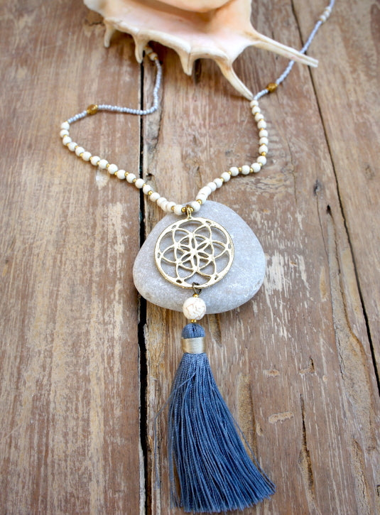 Seed Of Life Mandala Necklace
