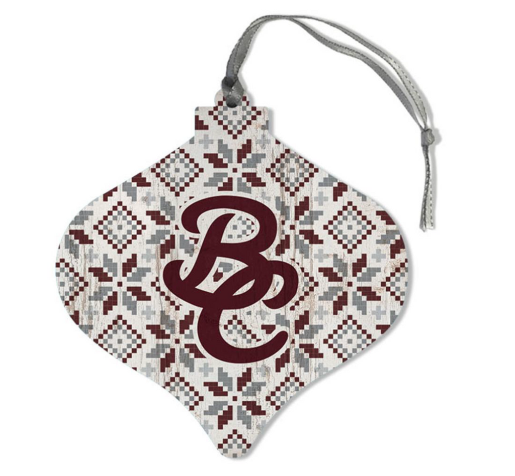 Interlocking BC Ornament