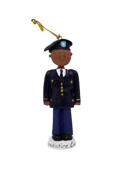 Ornament - African American Army Male