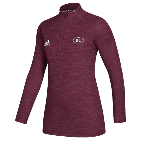 Adidas Women's 1\4 Zip- MAR
