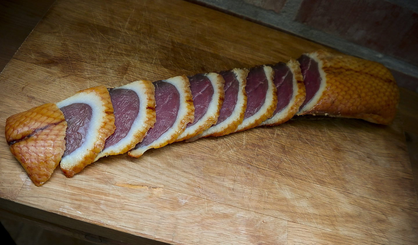 Cold Smoked Duck Breast