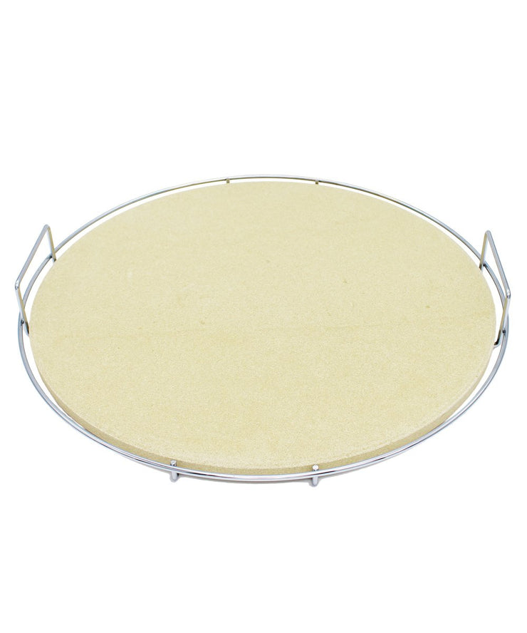 ProQ Ceramic Pizza Stone Addon for BBQ Smokers and Ovens