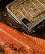 ProQ Cold Smoker with Smoked Salmon