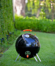 ProQ Frontier V4 BBQ Smoker No Stackers Kettle Grill