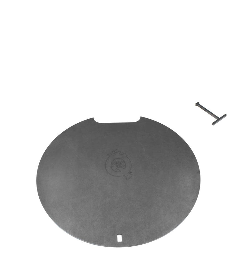 ProQ Plancha Steel Plate Addon for BBQ Smokers