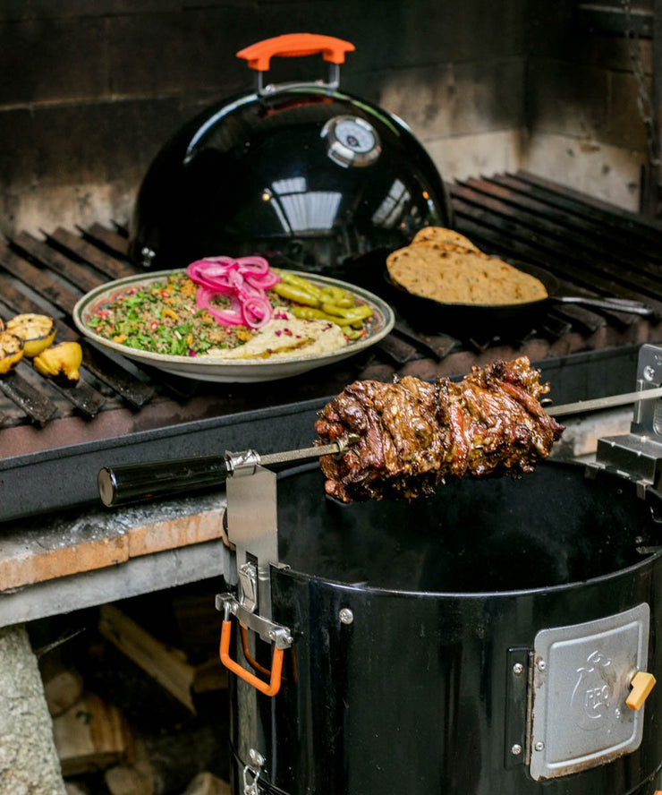 ProQ Rotisserie Kit Add On For BBQ Smokers Schwarma Kebab