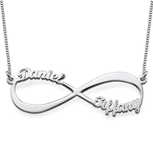 Infinite Lucky Love 925 Silver Name Necklace