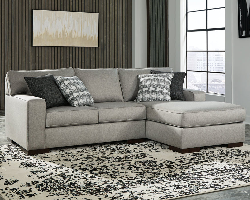 Marsing Nuvella Benchcraft 2-Piece Sectional with Chaise image