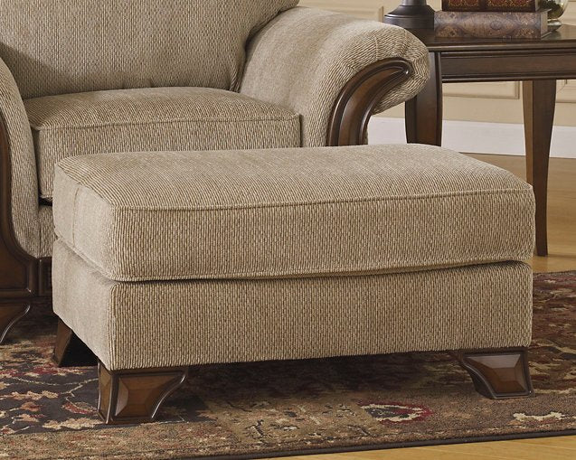 Lanett Signature Design by Ashley Ottoman image