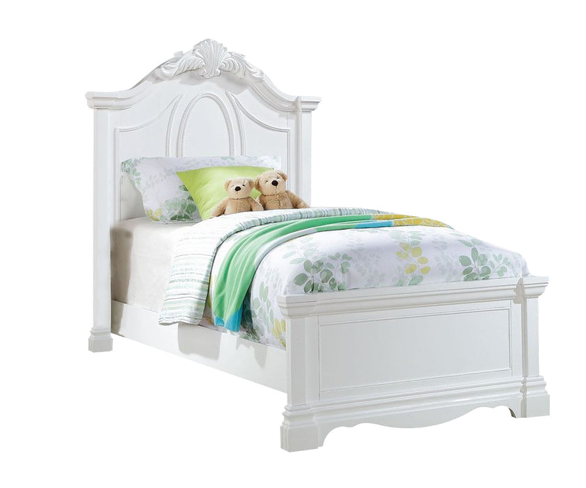 Acme Estrella Youth Full Panel Bed in White 30235F image