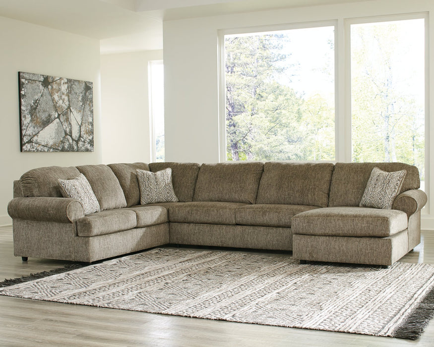 Hoylake Signature Design by Ashley 3-Piece Sectional with Chaise image