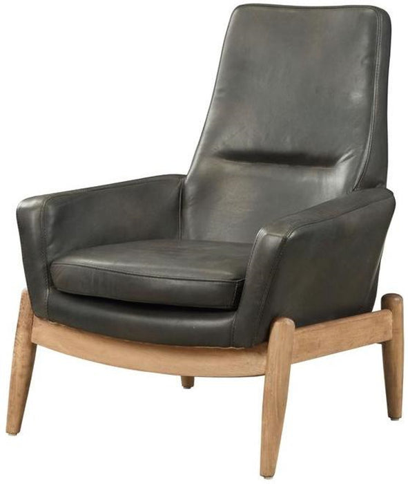Acme Dolphin Accent Chair in Black 59533 image