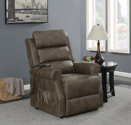 G650313 Casual Brown Power Lift Recliner image