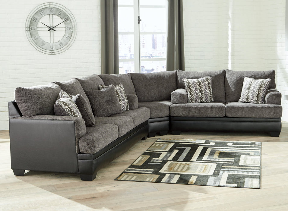 Millingar Signature Design by Ashley Sectional image