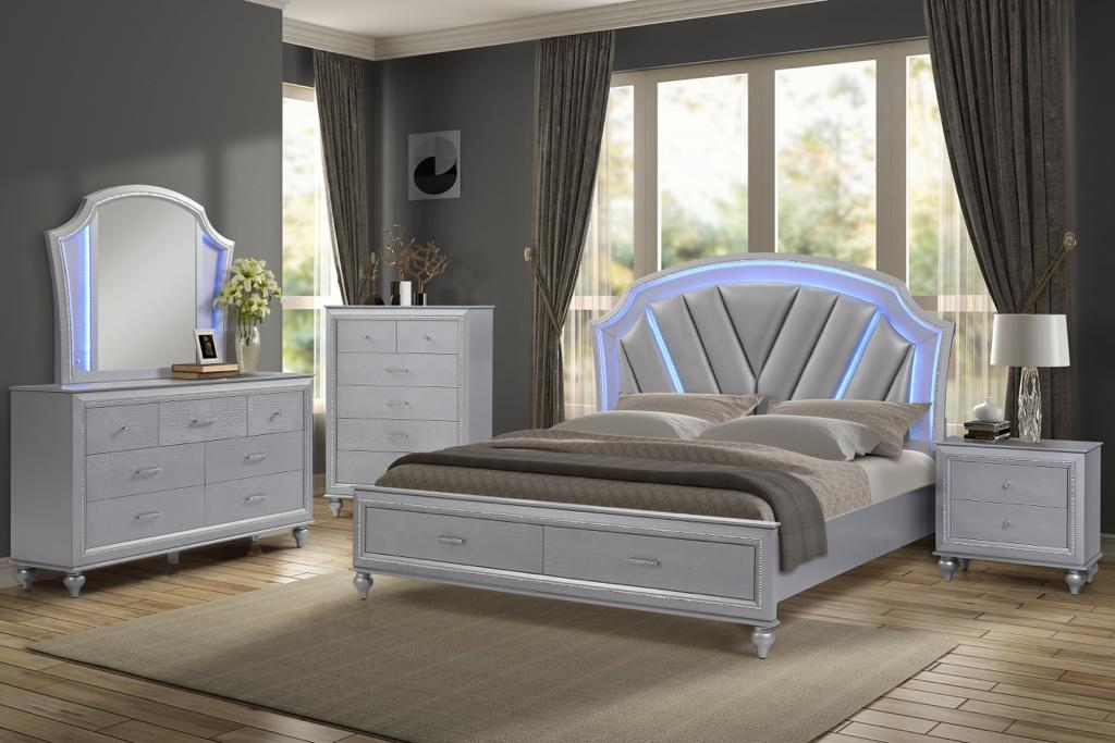 Amber Queen 5-Piece Bedroom Set