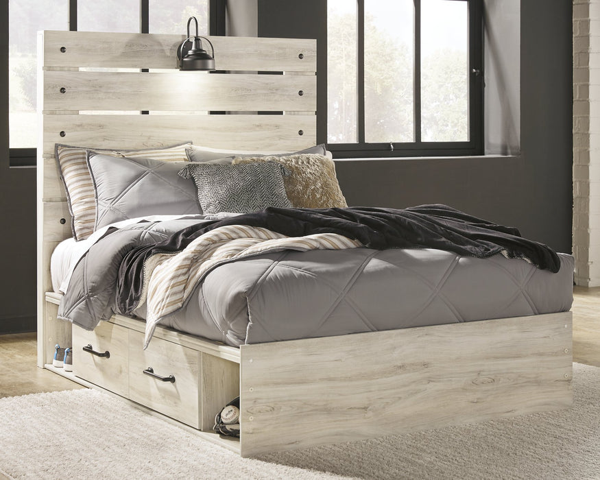 Cambeck Signature Design by Ashley Bed with 4 Storage Drawers image