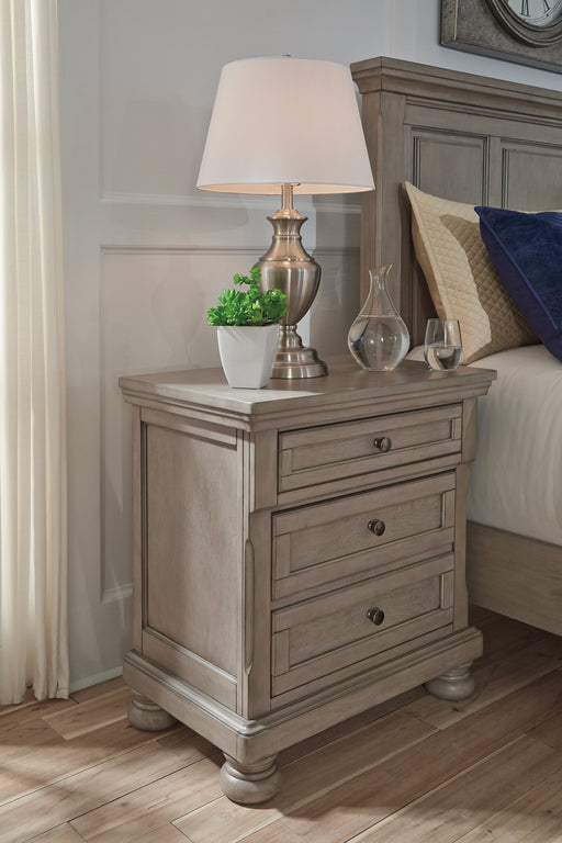 Lettner Signature Design by Ashley Two Drawer Nightstand image
