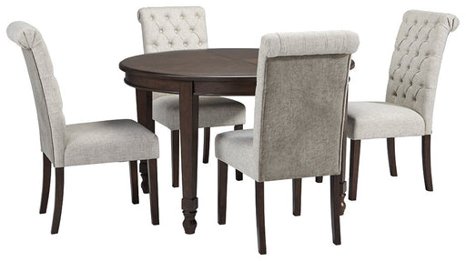 Adinton Signature Design 5-Piece Dining Room Package image