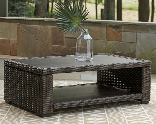 Grasson Lane Signature Design by Ashley Outdoor Cocktail Table image