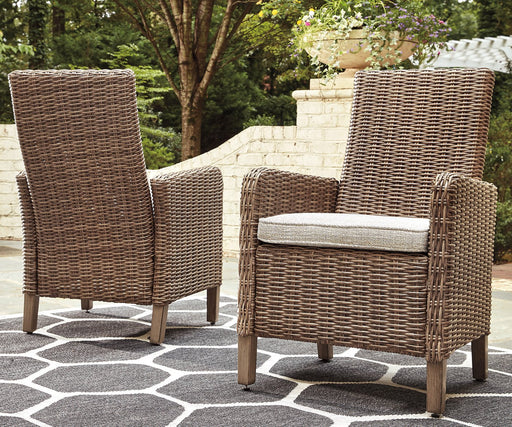 Beachcroft Signature Design by Ashley Outdoor Dining Chair Set of 2 image