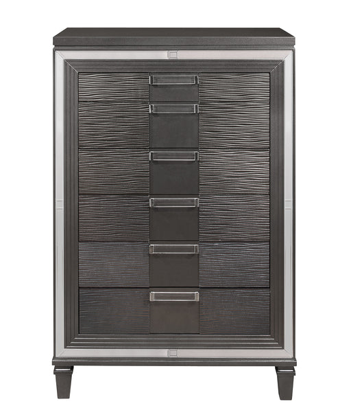 PISA METALLIC GREY CHEST image
