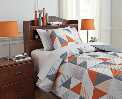 Layne Signature Design by Ashley Coverlet Set Twin image