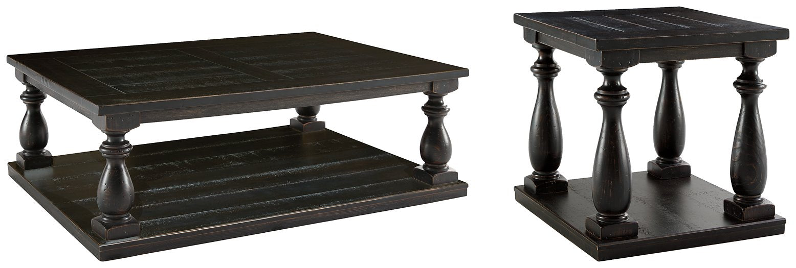 Mallacar Signature Design 2-Piece Table Set image