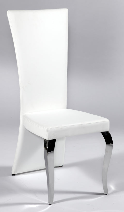 Transitional Rectangular High-Back Side Chair image