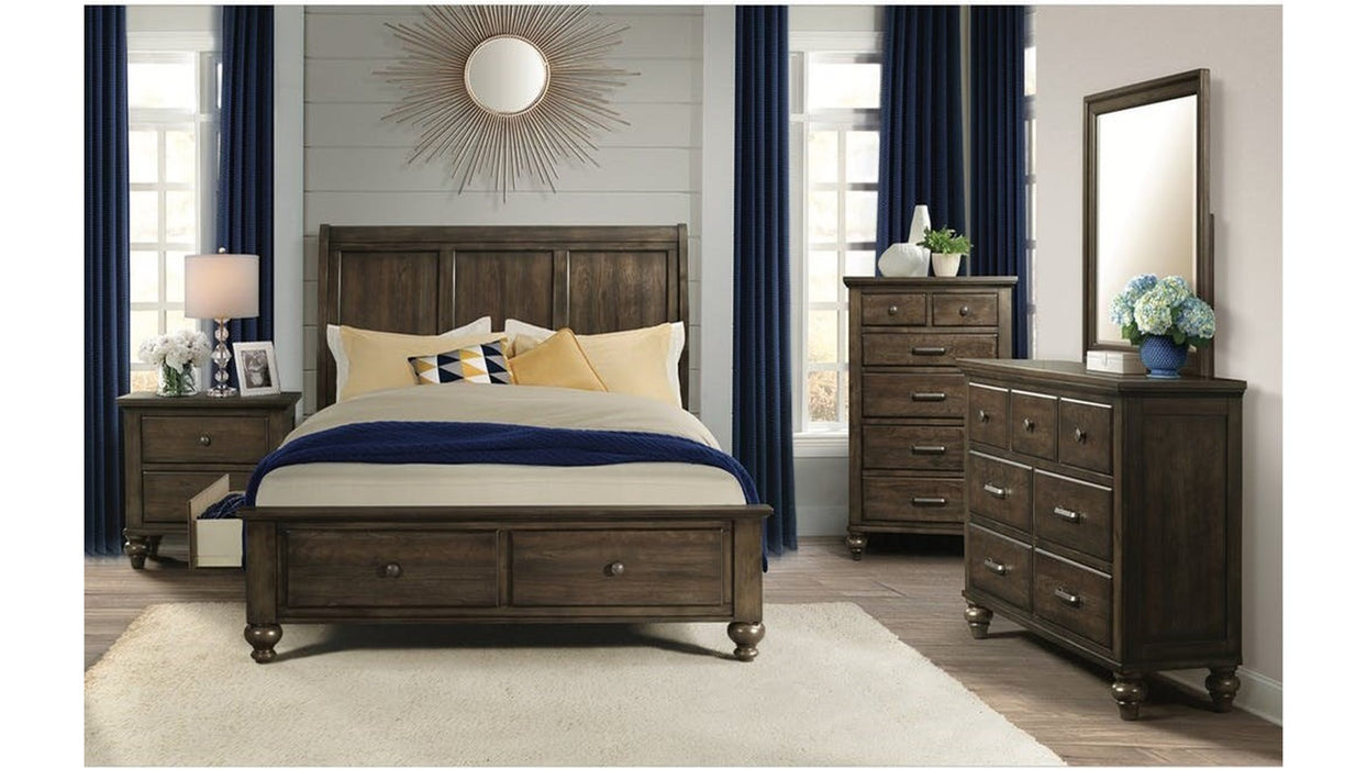 Chatham Gray Queen 5-Piece Bedroom Set