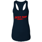 TATER THOT Ladies Ideal Racerback Tank