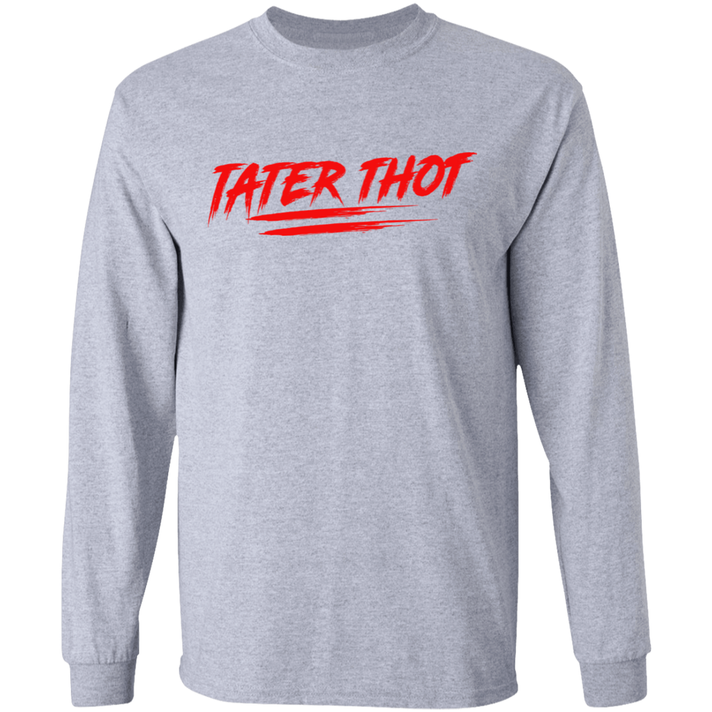 TATER THOT Long Sleeve T-Shirt