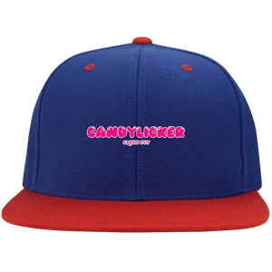 CANDYLICKER Flat Bill High-Profile Snapback Hat