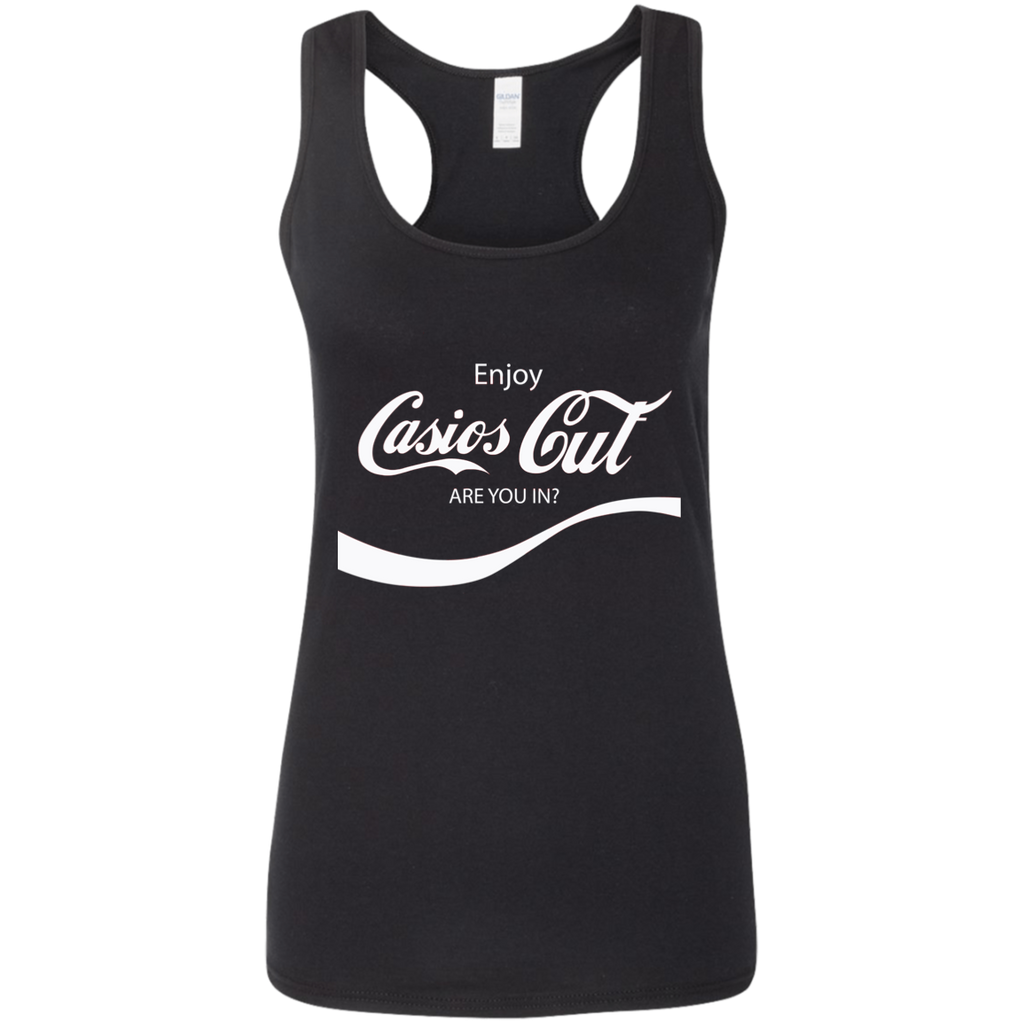 REFRESHING Ladies' Softstyle Racerback Tank