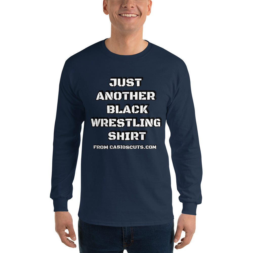 ANOTHER BLACK WRESTLING Long-Sleeve Tee