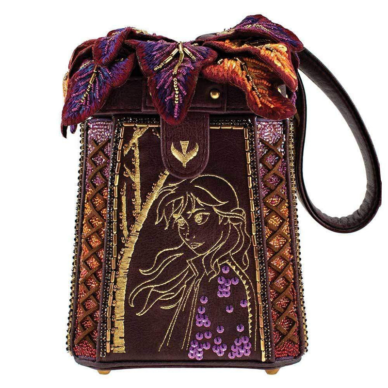 A Dance of Autumn Disneys Frozen 2 Beaded Wristlet Handbag - Disney