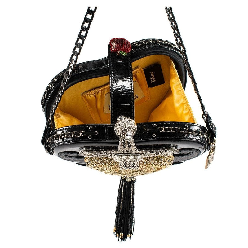 Devious Disney Evil Queen Heart and Dagger Embellished Handbag