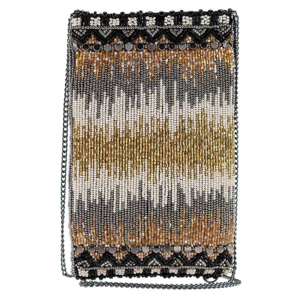 High Wire Beaded Crossbody Phone Bag
