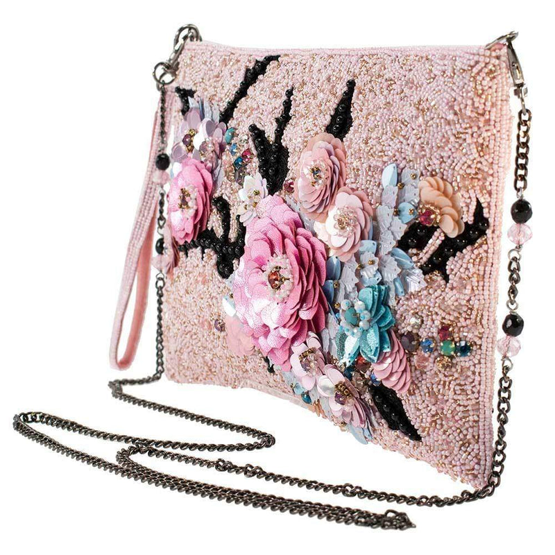Love Endures Disney Maleficent 2 Beaded Crossbody Wristlet Handbag
