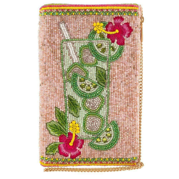 Pick Me Up Beaded Mojito Crossbody Phone Bag