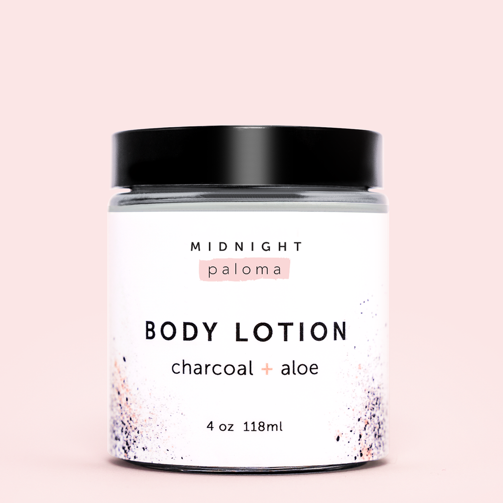 Charcoal + Aloe Detox Lotion
