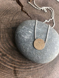 Newfoundland 10 Cent Coin Impression Necklace