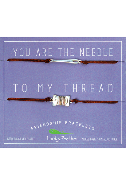 Needle and Thread BFF Bracelets